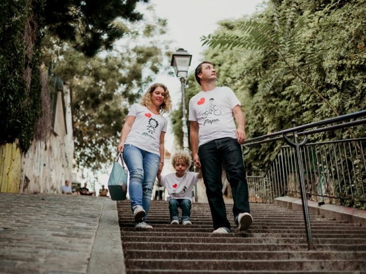 Balade en famille à Montmartre