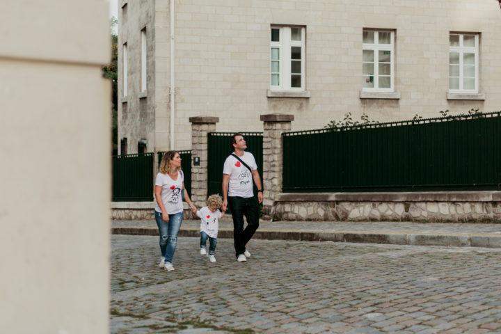 Promenade en famille à Montmartre