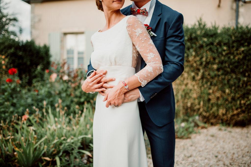 Photo des mariés au Domaine du Bouloy