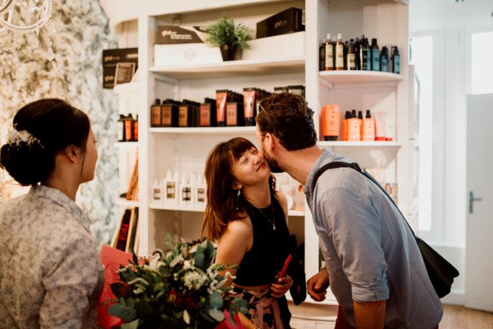 Proches de la mariée au salon Zepanek Coiffeurs Annecy