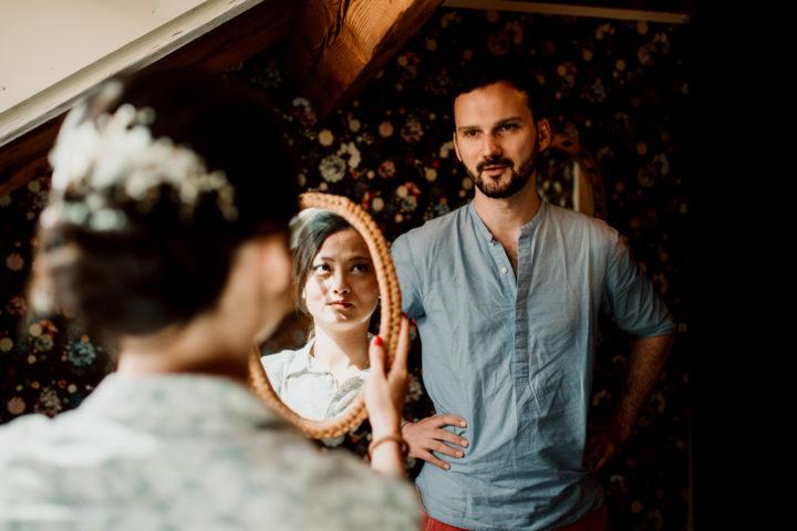 Les mariés chez La Superbe Annecy