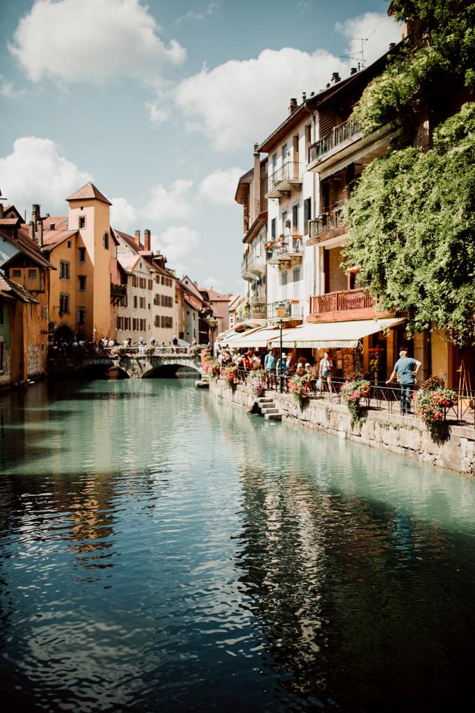Les canaux de la Vieille Ville d'Annecy