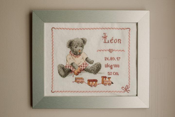 Tableau de naissance de Léon