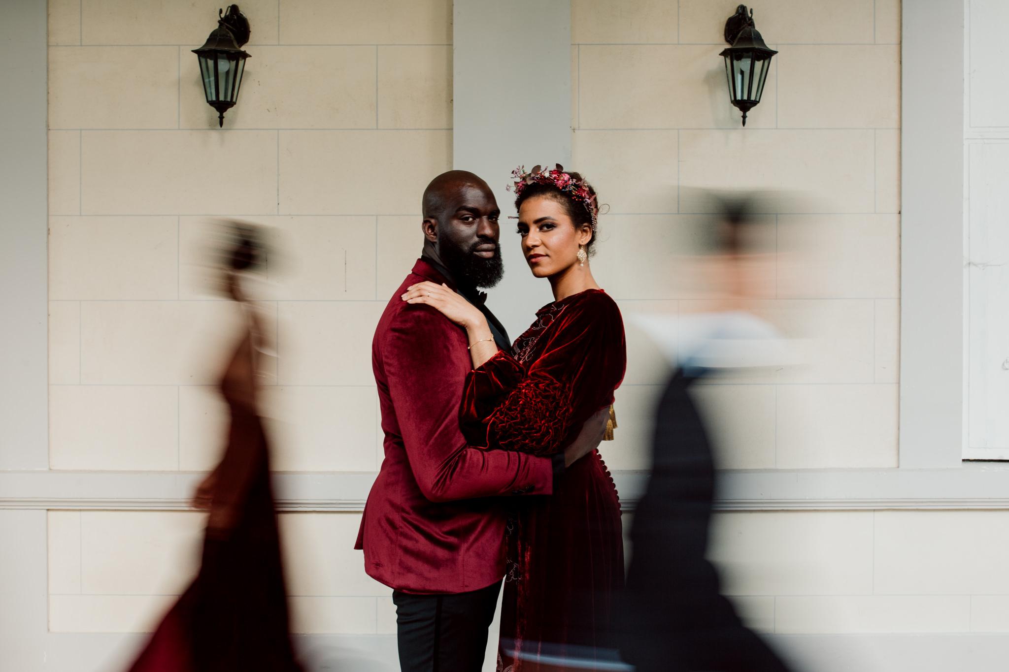 Mariage de velours au château de bouffémont