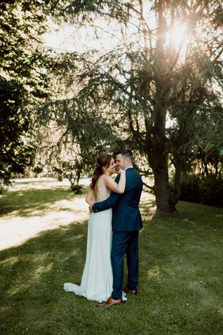 Photo de couple durant le mariage de Julie & Julien à Paris
