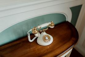 Photo d'illustration d'un téléphone vintage